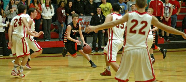 Austen Twombley led all scorers with 18 points, but Bonner Springs came up short Tuesday at Tonganoxie.