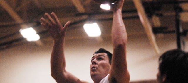 BLHS senior Ben Johnson scored 12 points and added eight rebounds in his first game back for the Bobcats on Tuesday.