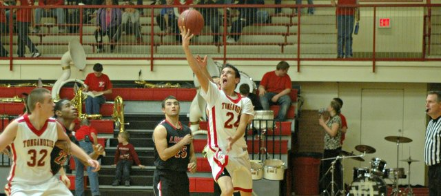 John Lean will try to help the Tonganoxie High boys build on last year's sixth-place finish at the Tonganoxie Invitational.