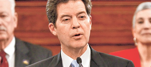 Democrats and other Brownback critics contend that the state's ongoing budget problems prove that his economic policies have failed.