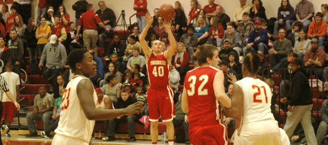 Jack Dale led all scorers with a career-best 25 points as Tonganoxie took down Atchison.