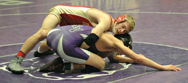 Asher Huseman is one of eight ranked wrestlers to be featured when Tonganoxie takes on Bonner Springs on Thursday.
