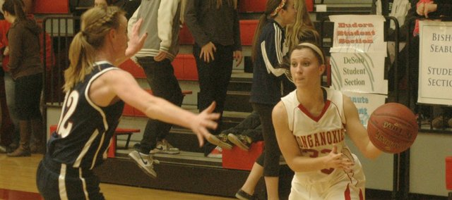 Hannah Kemp and the THS girls haven't won since they beat Eudora on Jan. 15.