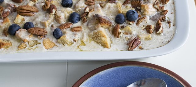 Banana Bourbon Bread Pudding combines the best of New Orleans — Bananas Foster and bread pudding — into one decadent dessert.