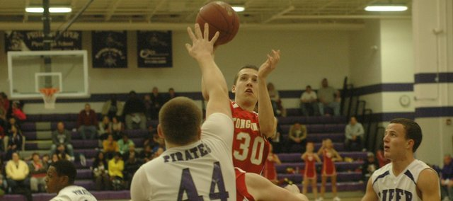 Blair Mathisen had 10 points in Tonganoxie's 68-66 loss Friday at Piper.