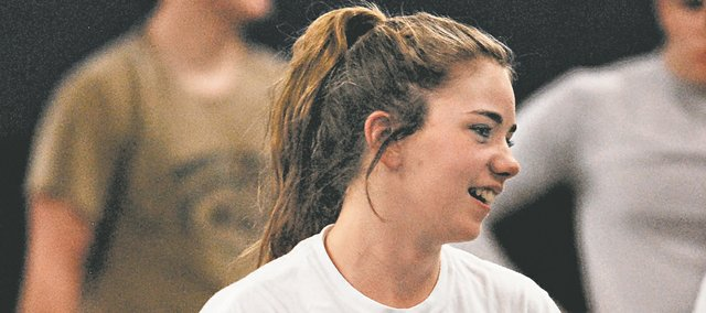 After three years in the Mill Valley wrestling program, junior Kali Gracy made the jump to varsity in time to qualify for the Feb. 22-23 5A state wrestling tournament.
