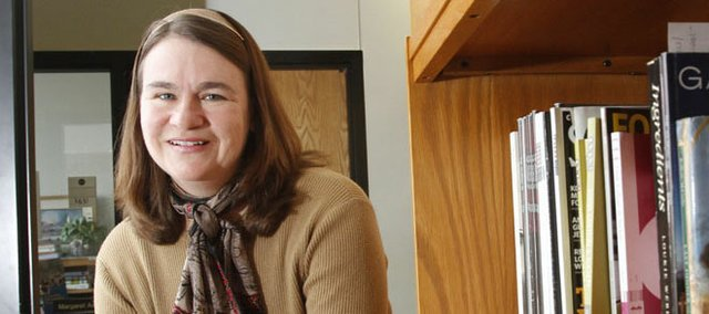 "In our Five Questions section, Andrea Broomfield, pictured, English professor at Johnson County Community College, offers a precede on her upcoming presentation, ""Soldier of the Fork: How Nathaniel Newnham-Davis Democratized Restaurant Dining in Fin de Siècle London."" The presentation is set for 11 a.m. Thursday, Feb. 28, at JCCC, 12345 College Blvd., Overland Park."