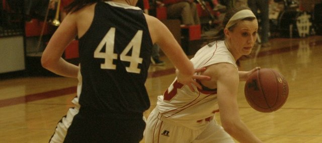 Hannah Kemp and the Tonganoxie High girls will face Sumner Academy for the first time in two years on Wednesday.