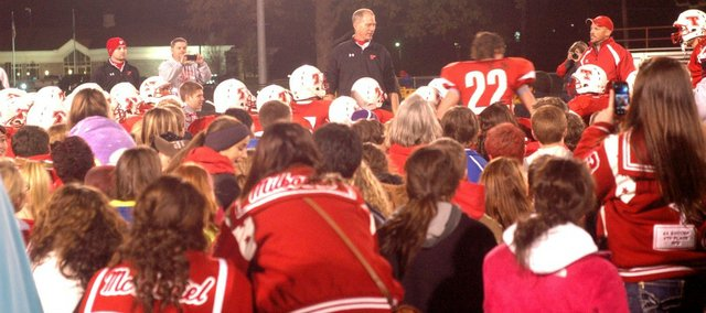 Home fan support has led to plenty of postseason success for Tonganoxie High in the last year.