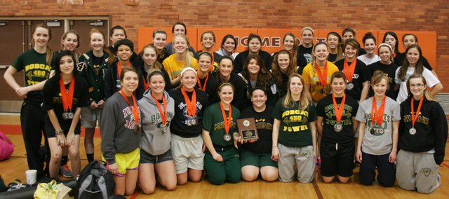 The BLHS girls powerlifting team won it's sixth straight Class 4A championship on Saturday, March 9 in Abilene.