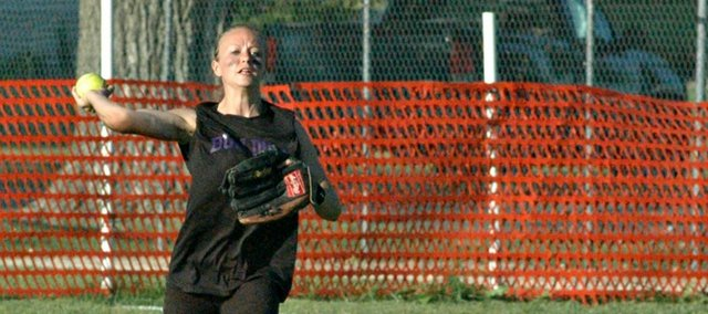 Senior Taylor Pope is one of several McLouth High players who will see time at multiple positions in 2013.