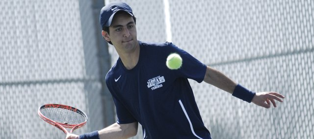Mill Valley senior Rafael Segura-Trujillo went 5-0 — winning all but one of 40 games in the process — and the Jaguars finished first overall in its home invitational Friday.