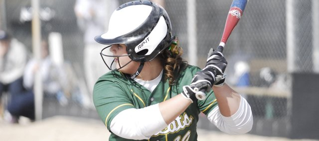 BLHS sophomore Allison Kasick went 3-for-4 with a double in a 5-1 win against Mill Valley on Tuesday. The Bobcats began their season with a split in the April 2 doubleheader.