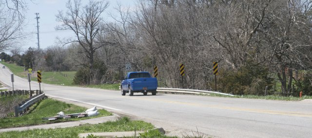 U.S. Highway 56 will be closed to eastbound and westbound traffic starting today as a project to replace three bridges gets underway. The easternmost bridge in Baldwin City will be replaced with a new structure that will carry two traffic lanes, a center lane and sidewalks.