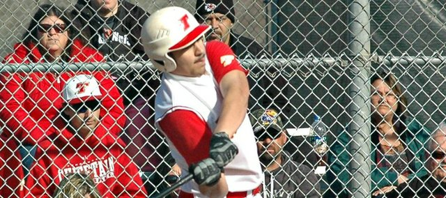 James Grizzle drove in two runs in Tonganoxie High's 6-4 win Friday at Piper. The Chieftains have won three of their last four games.