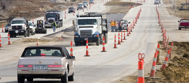 Construction crews throughout Kansas will be busy upgrading roads and highways this summer. Kansas Department of Transportation encourages motorists to slow down, watch for workers and drive safely through work zones.