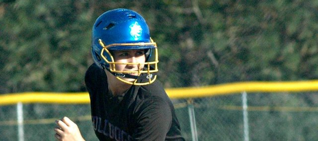 Senior Marrisa Raya and the McLouth High softball team handed Immaculata a 15-3 loss in Monday's regional opener.