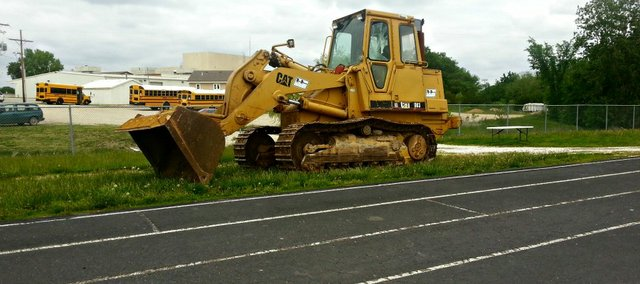 The asphalt track surrounding the Tonganoxie High soccer field will be removed before the start of the 2013-14 school year. Weather permitting, removal of the track will begin this weekend.