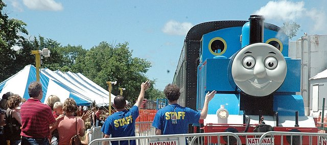 Thomas the Tank Train will make its 12th annual visit the next two weekends to Baldwin City. Midland Railway officials are expecting 12,000 to 17,000 visitors to come to this year's Day Out with Thomas.