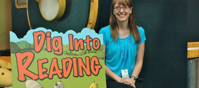 "Lesley Lard, the new youth and teen librarian at the Bonner Springs City Library, is excited for youths to ""dig into reading"" this summer through the library's summer reading program. In this week's Five Questions, we talk about why reading over the summer is important for youths and adults."