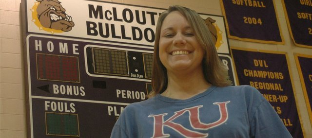 Lindsey Graf has been named the high school and middle school athletics director at McLouth.