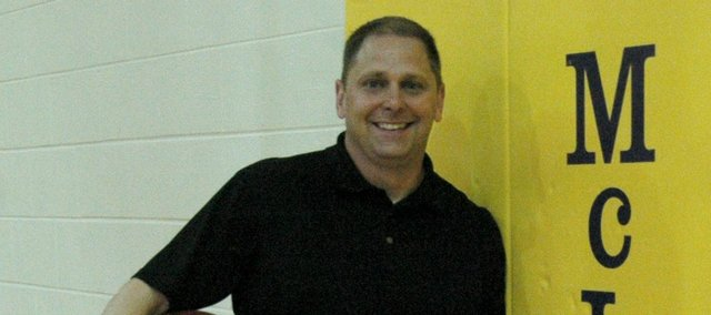 Jason Graf has taken the reins of the McLouth High boys basketball program after spending last season as an assistant on the girls team.
