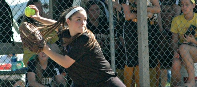 McLouth High's Konner Patterson has earned her third straight All-State softball selection.