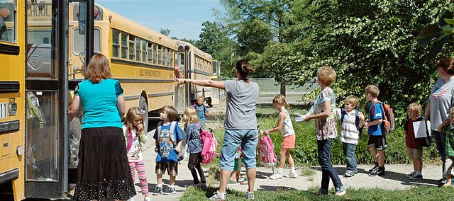 Baldwin USD 348 students living within 2.5 miles of their attendance centers will no longer receive free bus service to and from school. The school board voted Monday to charge in-town students $75 per year for the service.