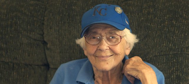 At 91 years of age, Mary Swan is still a Kansas City Royals season-ticket holder and attends games in the seats her late husband, Tom Swan, picked out while what is now Kauffman Stadium was under construction.