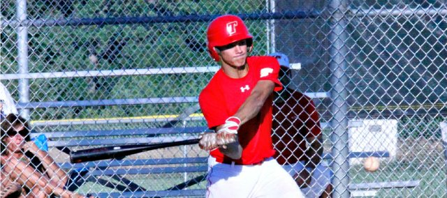 Colten Weaver went 3-for-4 and drove in a run Wednesday against Turner, but Tonganoxie dropped its season finale, 5-4.