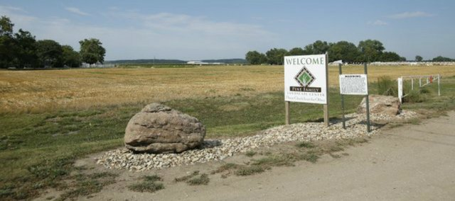 A plot of land previously owned by Pine Family Farms has been sold to the Delaware Indian Tribe of Oklahoma. The deal consists of 87 acres north of the Kansas Turnpike near the North Lawrence interchange.