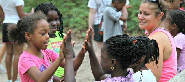 Camp Courage gives campers with sickle-cell disease a chance to spend time with and relate to several other kids dealing with the same disorder that affect them or their families.