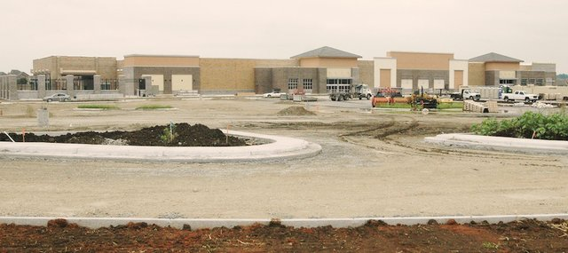 Long in the works, the new Walmart Supercenter in western Shawnee, near the intersection of Kansas Highway 7 and Johnson Drive, will open this fall.