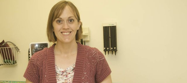 Dr. Bonnie Cramer has been seeing patients at Family Medicine of Baldwin City since starting at the clinic in June. The community will have the opportunity to meet the town's newest doctor at an ice cream social Thursday at The Lodge.