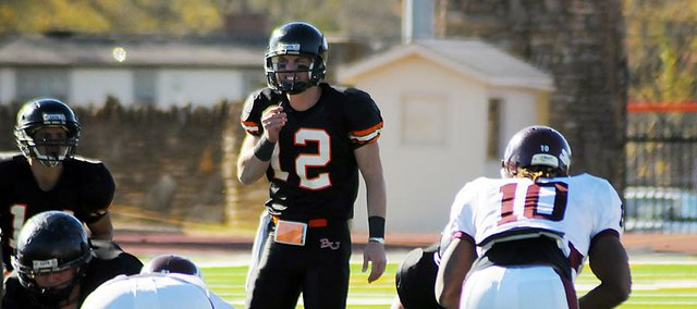 Jake Morse will return for his senior season at quarterback for the Baker Wildcats.
