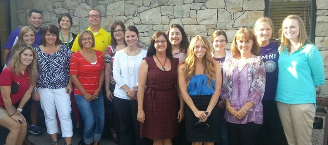 The Basehor-Linwood school board introduced the district's 15 new teachers at its monthly meeting on Monday.