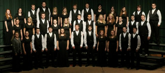 The BLHS mixed chorus has earned a spot in this year's Kansas Music Educators Association Convention, set for Feb. 28 in Wichita.