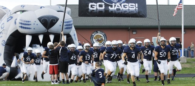 Mill Valley's football team must defend the Kaw Valley League title without most of the players responsible for more than 4,000 yards of offense and 64 touchdowns in 2012.