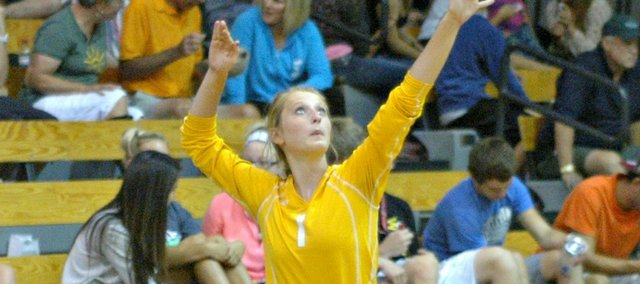 Marissa Martin will look to lead a THS volleyball team that must replace nearly all its varsity contributors from 2012.