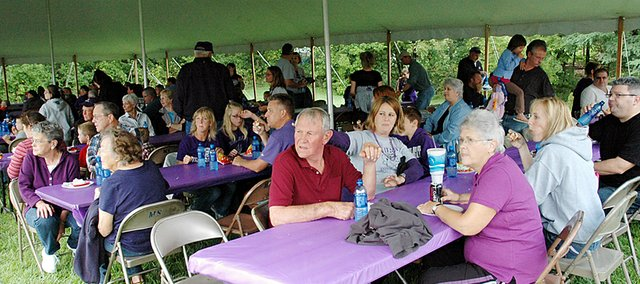 Cindy Crabtree, Bulldog Bash Committee chair for the Baldwin High School Booster Club, says there will be an expanded menu at this year's Bash before BHS home-opening football game Sept. 13.