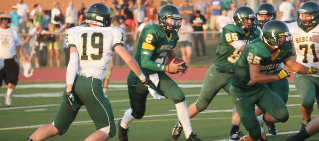 BLHS senior Tim Sanders will be the Bobcats' starting quarterback this season.