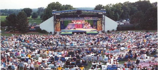 Every year, the Kansas City Symphony's free Labor Day concert brings thousands of people to Shawnee Mission Park.