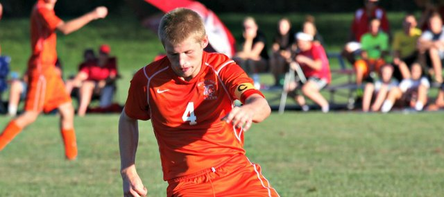 Austin Schuler and the Bonner Springs soccer team earned a 4-3, overtime win Tuesday at Tonganoxie.