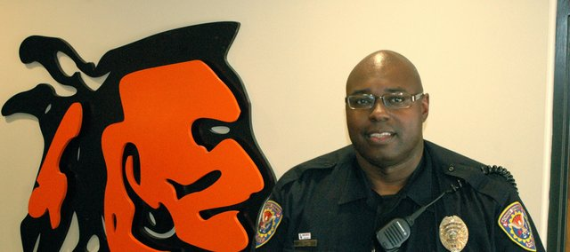 Bonner Springs Police Officer Anthony Davis began the school year as a new School Resource Officer for Bonner Springs High and Clark Middle schools.
