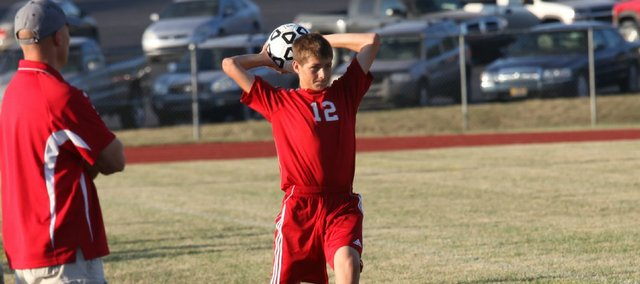Jay Willcutt had a game-high two goals in Tonganoxie's 5-1 win Tuesday at Atchison.