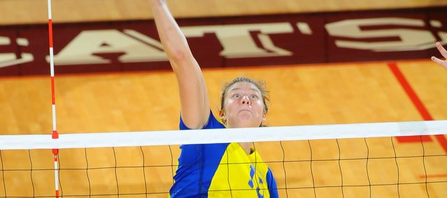 Molly O'Hagan, a 2011 Tonganoxie High grad, recently earned a pair of volleyball awards at Cal State University-Bakersfield.