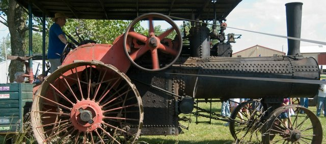 Vintage farm machines will again be on display this weekend at the McLouth Threshing Bee, which started in 1957.