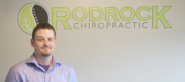 Caleb Ramsey has been providing chiropractic services as an independent contractor at Rodrock Chiropractic since April. The community will have the opportunity to meet him from 5 to 6:30 p.m. today at a Baldwin Chamber of Commerce open house at the Rodrock clinic.