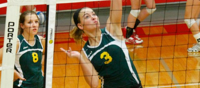 BLHS sophomore Madi Osterhaus has helped lead the Bobcats to a 16-8 record in their bid to return to the Class 4A tournament after last year's first-ever appearance.
