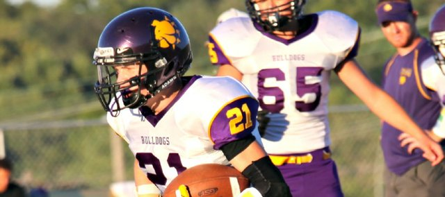 Drew Cerny ran for 135 yards and two touchdowns in McLouth's 28-6 win against Pleasant Ridge.